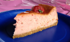 Pink (Strawberry) Cheesecake