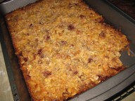 Raspberry Magic Bars