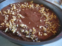 Chocolate Quinoa Brownies - ready for the oven!