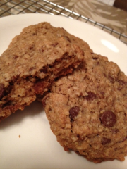 Oatmeal Whole Wheat Cookies