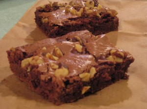 Craggy-Topped Fudge Brownies