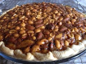 Mixed Nut Pie