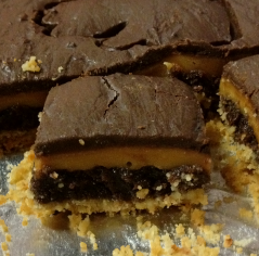 Banzai Birthday Treats: Twix Brownies