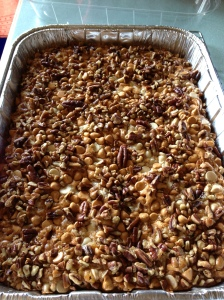 Son-In-Law Cake (Pumpkin, Butterscotch & Pecans)