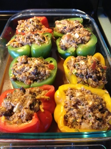Mexican Stuffed Peppers with Quinoa