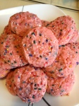 Strawberry Confetti Cookies
