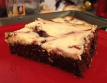 Blackberry Cream Cheese Brownies