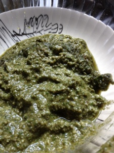 Basil-Walnut Pesto