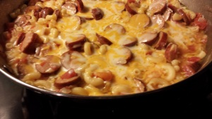 One Pot Andouille Pasta